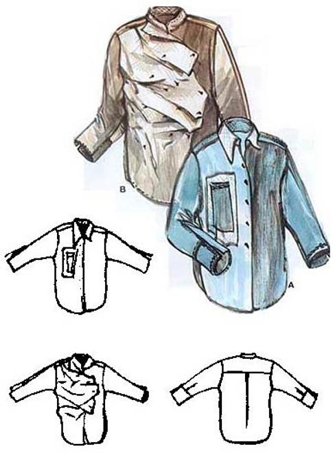 Nuevo Shirt - Diane Ericson - ReVisions