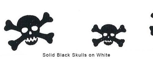 Skull & XBones Ribbon