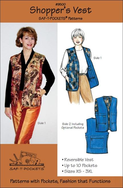 Shopper's Vest - Saf T Pockets