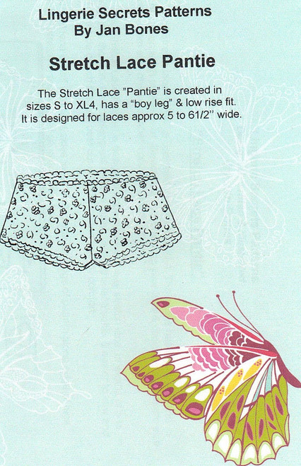 Stretch Lace Pantie - Lingerie Secrets
