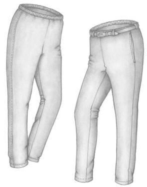 Comfort Knit Pants - Great Copy Patterns