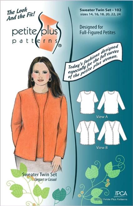 Sweater Twin Set - Petite Plus