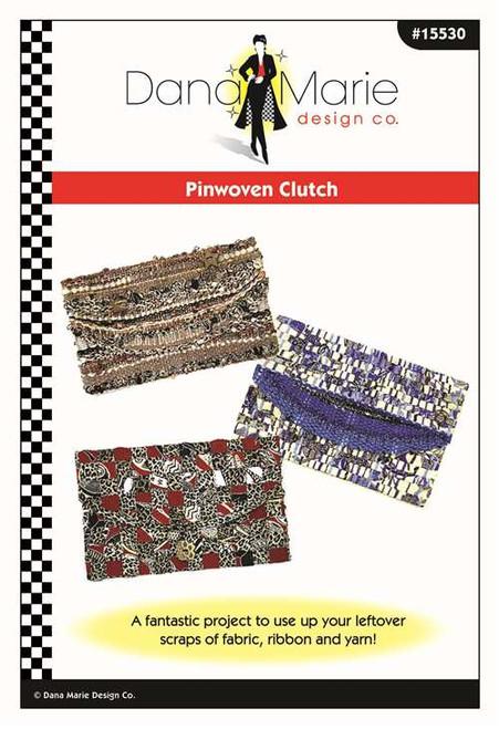 Pin Woven Clutch