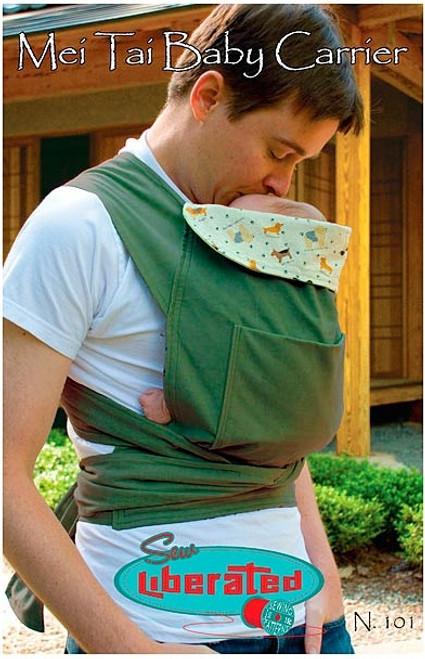 32bf1cae2ac Mei Tai Baby Carrier - Sew Liberated