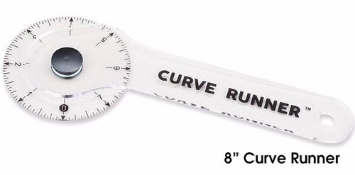 """8"""" Curve Runner - Rotary Ruler and Measuring Device"""