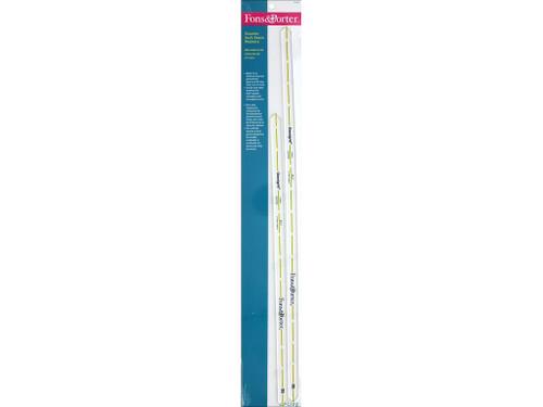 "Fons & Porter Notions Ruler Quarter Inch Seam Markers 14"" & 18"""