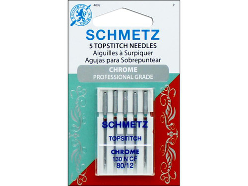 Schmetz Chrome Topstitch