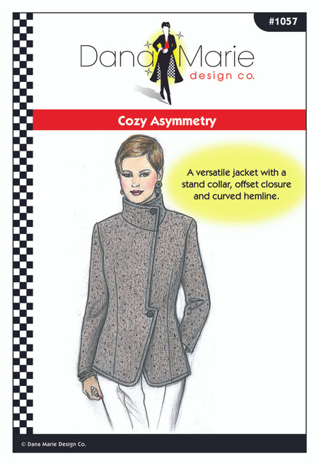 Cozy Asymmetry - Dana Marie Design Co.