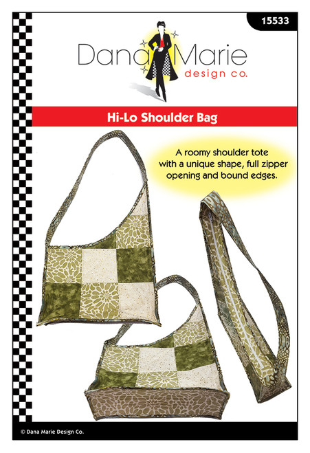 Hi-Lo Shoulder Bag - Dana Marie Design Co.