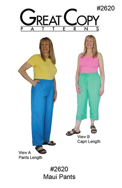 Maui Pants - Great Copy Patterns