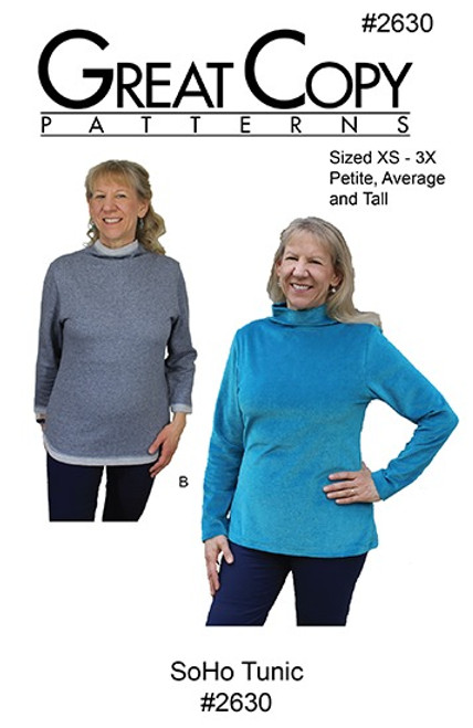 Soho Tunic - Great Copy Patterns