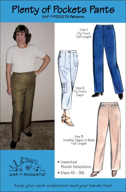 Plenty of Pockets Pants - Saf T Pockets