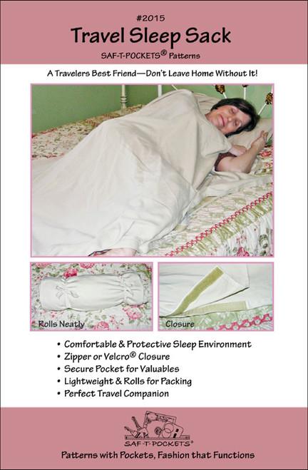 Travel Sleep Sack - Saf T Pockets