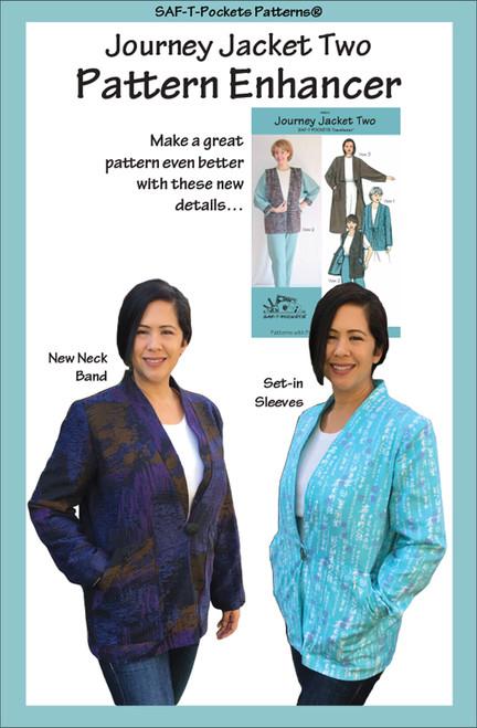 Journey Jacket Two Enhancer - Paper Pattern - Saf T Pockets