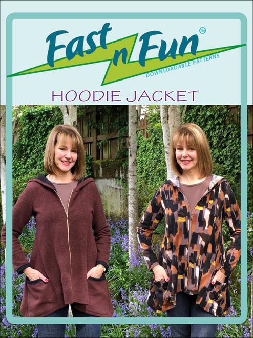 HOODIE JACKET - Paper Pattern - Saf T Pockets