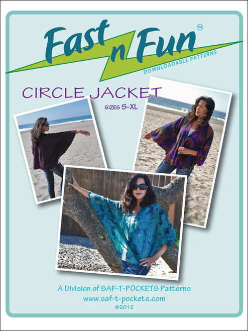 CIRCLE JACKET - Paper Pattern - Saf T Pockets