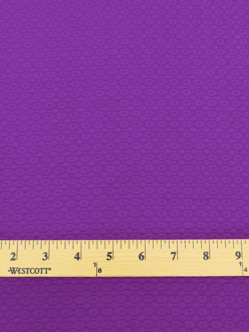 Honeycomb Double Knit – Grape - 58″ wide