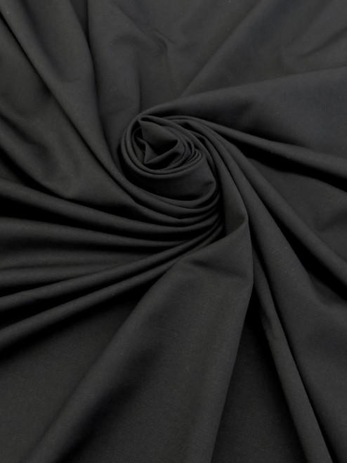 "Lightweight Stretch Suiting - Black 58"""