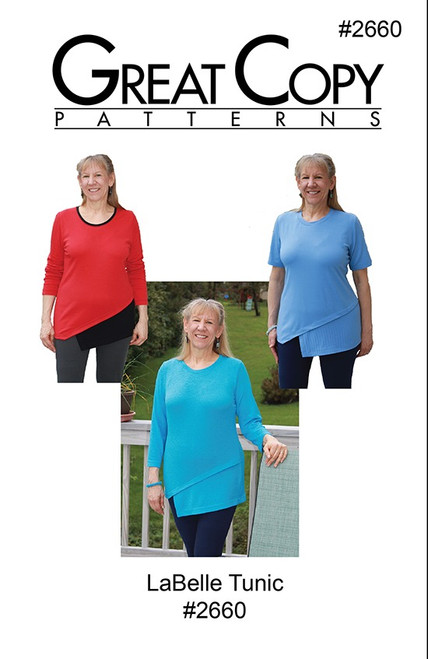 LaBelle Tunic - Great Copy Patterns
