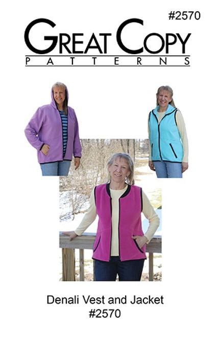 Denali Vest and Jacket - Great Copy Patterns
