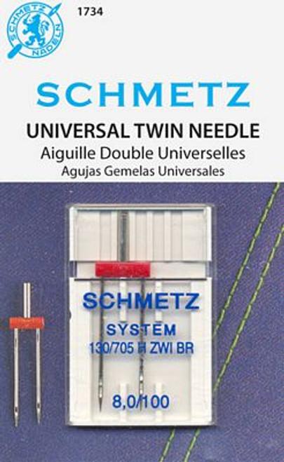 Schmetz Universal Twin 8.0/100