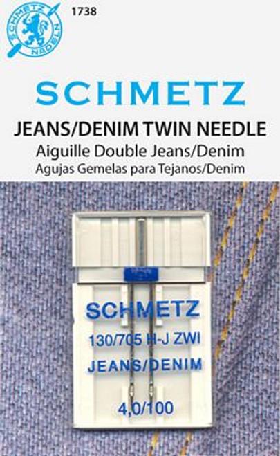 Schmetz Double Denim 4.0/100