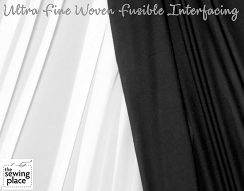 Ultra Fine Woven Fusible Interfacing 60""