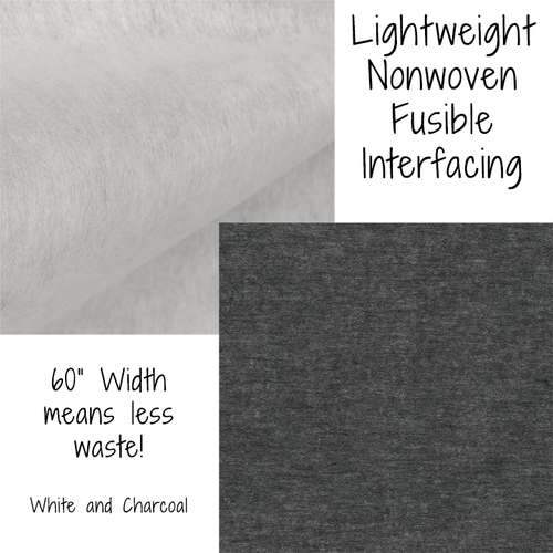 Lightweight Non Woven Fusible Interfacing - Used in Face Masks