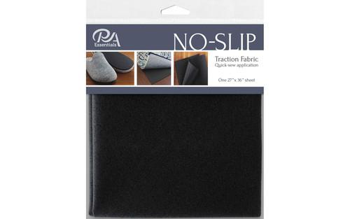 No Slip Traction Fabric - Black or White