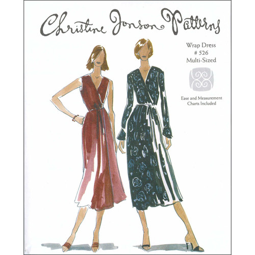 Wrap Dress - Christine Jonson