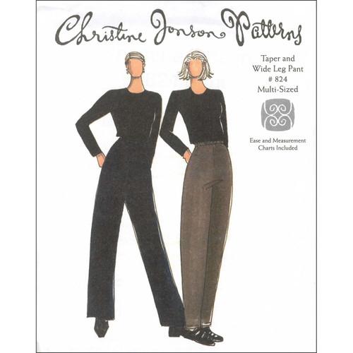 Taper Pant & Wide Leg Pant - Christine Jonson