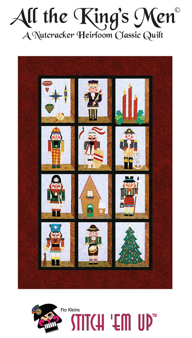 All the Kings Men Nutcracker Quilt Pattern