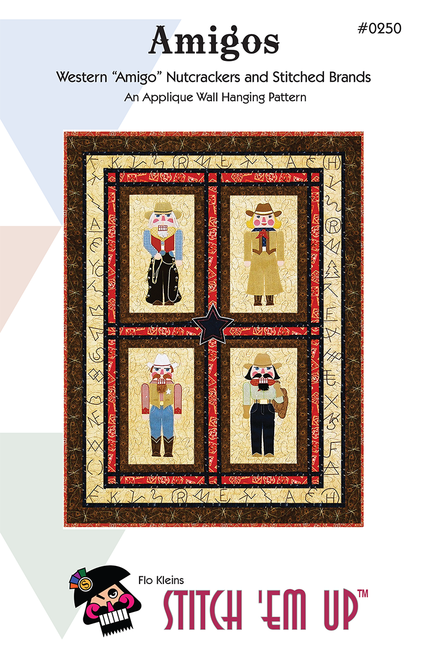 Nutcracker Amigos© Wall Hanging Pattern