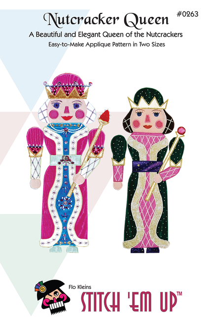 Nutcracker Queen Applique Pattern