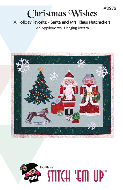 Christmas Wishes© Nutcracker Wall Hanging Pattern
