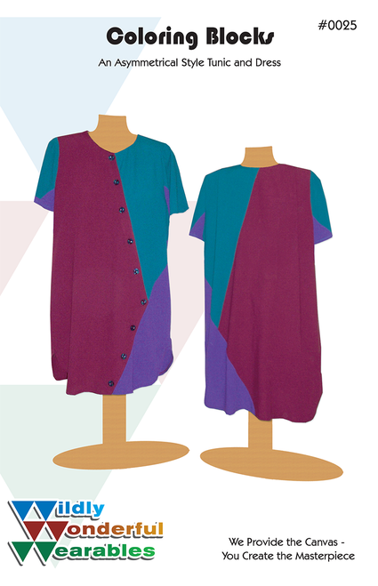 Coloring Blocks© Tunic Dress