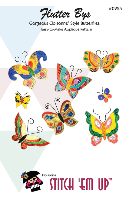 Flutter Bys© Wall Hanging & Applique Pattern