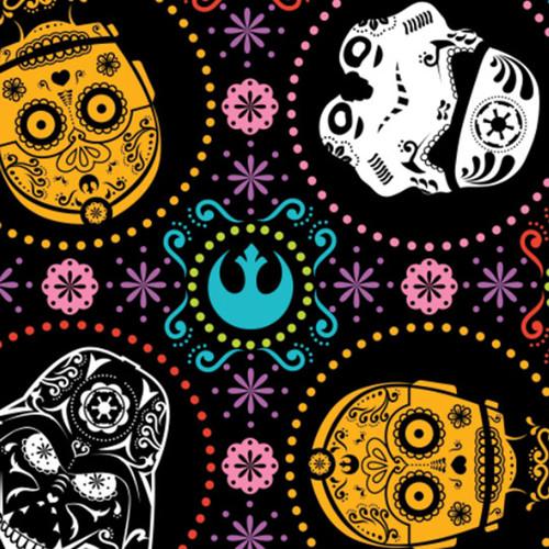 "Star Wars Fleece - Characters 100% Polyester - 58/60"""
