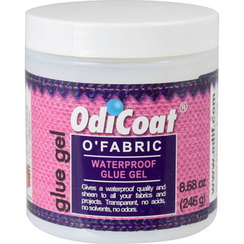 Odicoat O'Fabric Waterproof Glue Gel - 8.68 oz jar