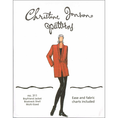 Boyfriend Jacket & Shell - Christine Jonson