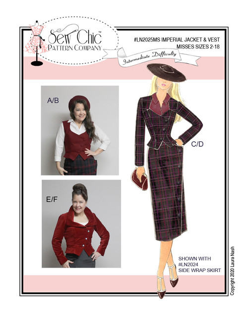 Imperial Jacket & Vest - Sew Chic