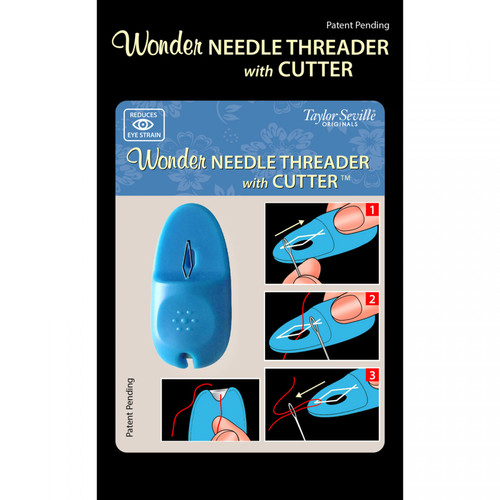 Wonder Needle Threader with Cutter