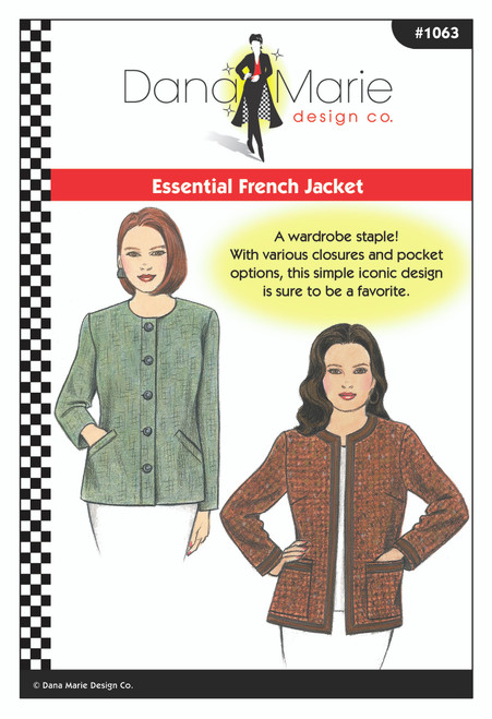 Essential French Jacket -  Dana Marie Design Co.