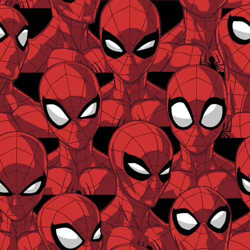 Spiderman Spider Sense - 100% Cotton - 44/45""