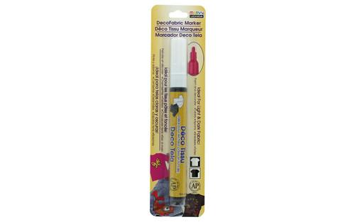 Uchida DecoFabric Marker Set Fine Tip Opaque White