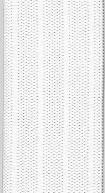 """1 1/4"""" Knit SPORT Elastic - White"""