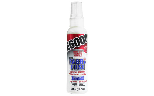 Eclectic Adhesive E6000 Fabri Fuse Bottle 4 oz.