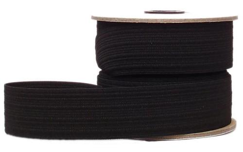 """1 1/2"""" Knit SPORT Elastic - Black or White"""