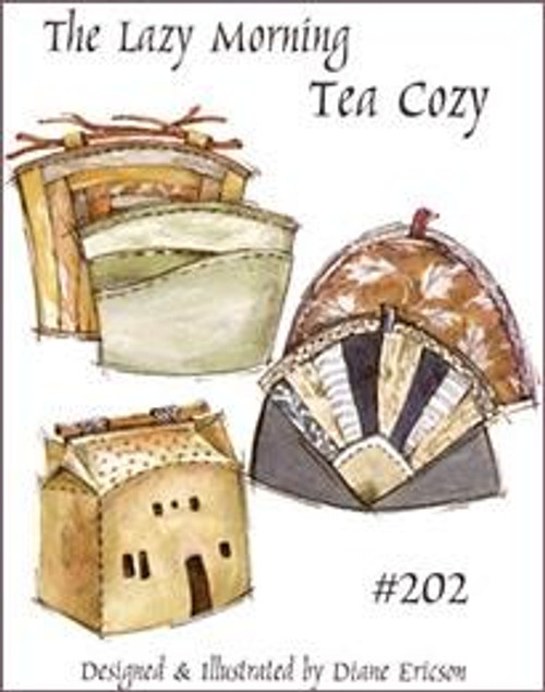 Lazy Morning Tea Cozy - Diane Ericson Design