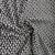 "Small Geometric Liverpool Knit - Black/Grey/White - 60"""